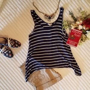 {Zenana Outfitters} Striped Top